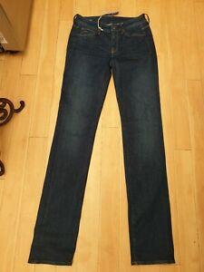 G-Star-Raw-3301-Contour-High-Straight-Blue-Jeans-W25-L34-BNWT-REDUCED