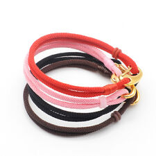 Choose size 1pcs Handmade Leather Bracelet For 4.5mm Hole Bead