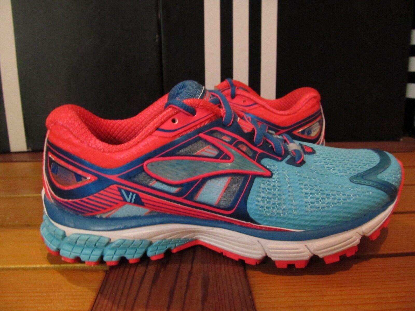 Neuf Femme Brooks Ravenna 6 bleu Rose 6 120182 1 B 497 Chaussures Course Marche