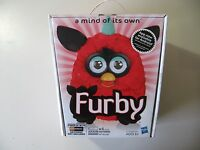 2012 Electronic Red Furby Doll (black Cherry), Made By Hasbro, Brand Sealed
