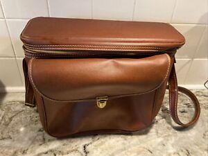 Vintage Hinson Camera Carry Shoulder Bag w/ Strap -  #2608 - EUC