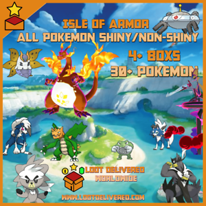 Pokemon-Sword-and-Shield-Pokedex-Isle-Of-Armor-Completion-Service