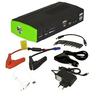 12v kfz auto jump starter starthilfe power bank batterie. Black Bedroom Furniture Sets. Home Design Ideas