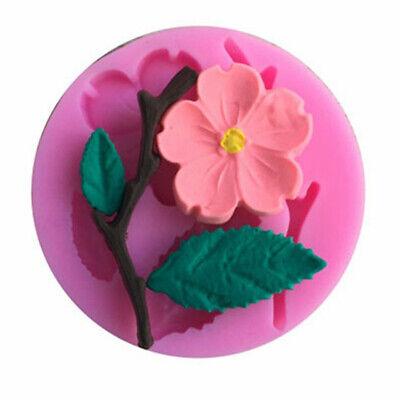 Petal Flower Leaf Fondant Silicone Mould Cake Decor Chocolate Sugar Baking Mold