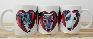 Greyhound-Mug-x-1-Black-Brindle-White-Dog-Hearts-Valentine-Gift-to-Charity