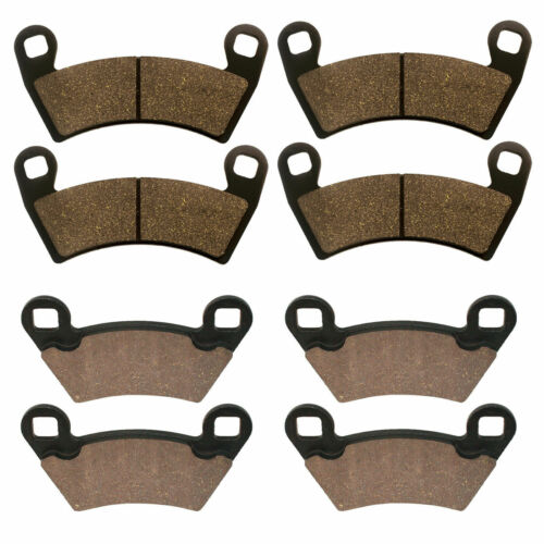 Brand New Caltric Front and Rear Brake Pads for Polaris Ranger XP 900 2013-2019
