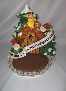 Fitz-amp-Floyd-Christmas-Pageant-Stage-Figurine-Holiday-Hamlet-1994-RARE