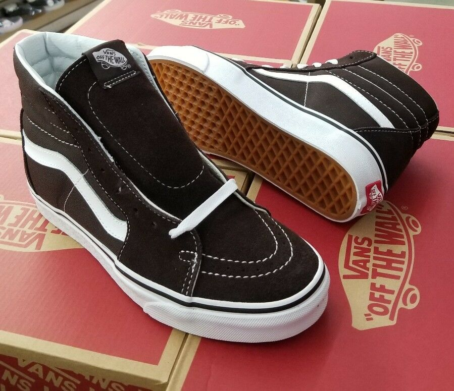 VANS CHOCOLATE SK8-HI MEN CHOCOLATE VANS TORTE / WEISS VN0A38GEU5Z 2fdb34