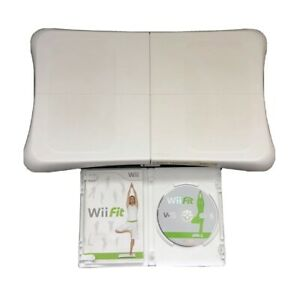 Nintendo Wii Balance Board With Wii Fit Plus - Cleaned & Tested