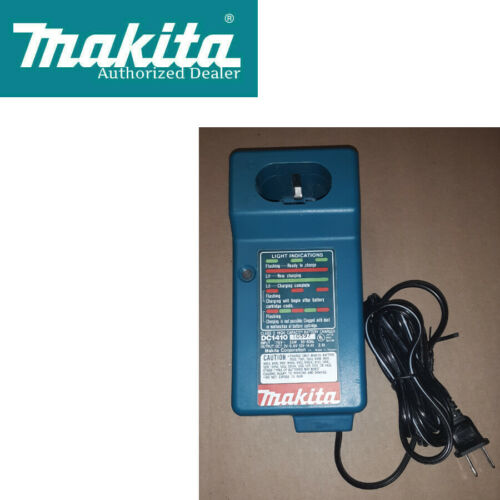 Makita DC1410  9.6V-14.4V Battery Charger w//Full Warranty
