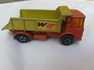 VINTAGE-Matchbox-Super-Kings-N-K-4-LEYLAND-Tipper-Truck-by-Lesney