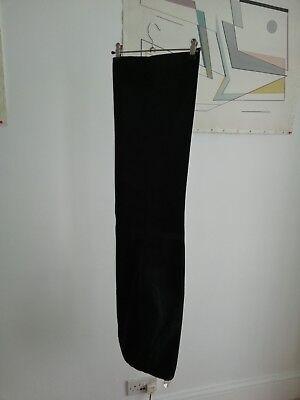 Pantaloni Vintage Nero 70s-mostra Il Titolo Originale Colori Armoniosi
