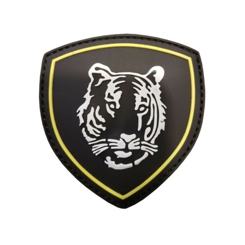 Russe tigre noir #9065 PATCH VELCRO Insigne airsoft paintball Tactical