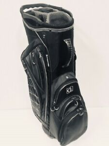 ClubLink Deluxe Lightweight Divider Cart Bag, Black (New)