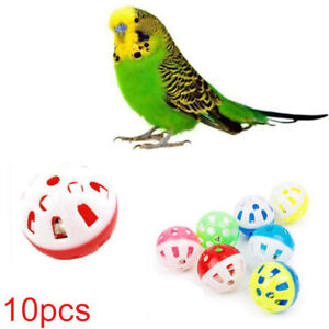 10Pcs-Rolling-Bell-Ball-Pets-Hollow-Bird-Toys-For-Parakeet-Parrot-Chew-Cage-Toy
