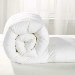 Luxury Soft Microfiber Wrapped Duvet Quilt Feels like Down in all sizes /& Tog