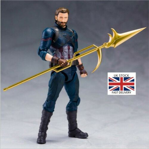 Marvel Avengers Captain America S.H.Figuarts Action Figure Collection Toys Gift