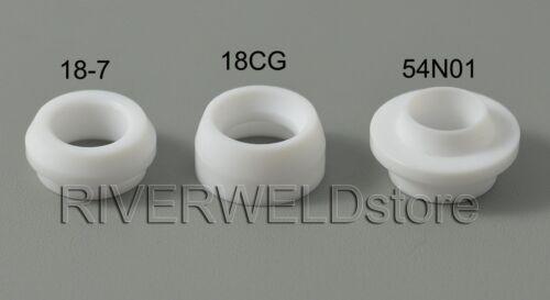 WIG TIG Gaslinse Spannhülse Brennerkappe Lang Keramikdüse Für SR WP17 18 26 50St