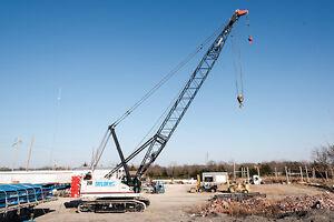 2014 link belt 218 hsl 110 ton crawler crane 40 ft basic boom ebay rh ebay com Grove Cranes All Crane