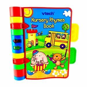 Details Sur Vtech Chant Nursery Rhyme Livre Interactif Chansons Lights 6 M A 3y Tres Bon Etat Charge Afficher Le Titre D Origine