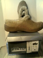 Rhtf Flexisole Clog/slide/mule Franky- Camel Size 9.5m-new In Box-free Shipping