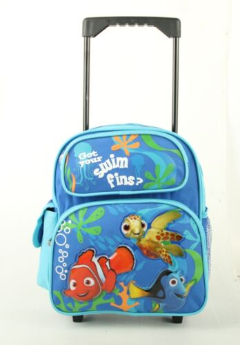 "Disney Pixar Finding nemo Small 12/"" Rolling Backpack"