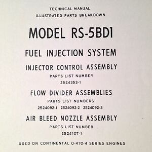 continental fuel injection manual
