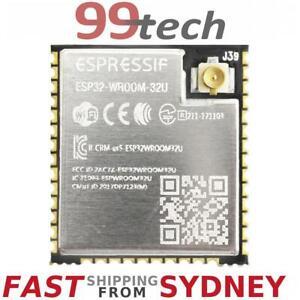 Details about ESP-WROOM-32U WiFi Bluetooth Module, IPEX U FL Arduino, From  SYDNEY