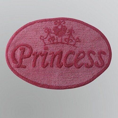 Disney Princess Tufted Bathroom Bath Rug 20x30 inches Pink
