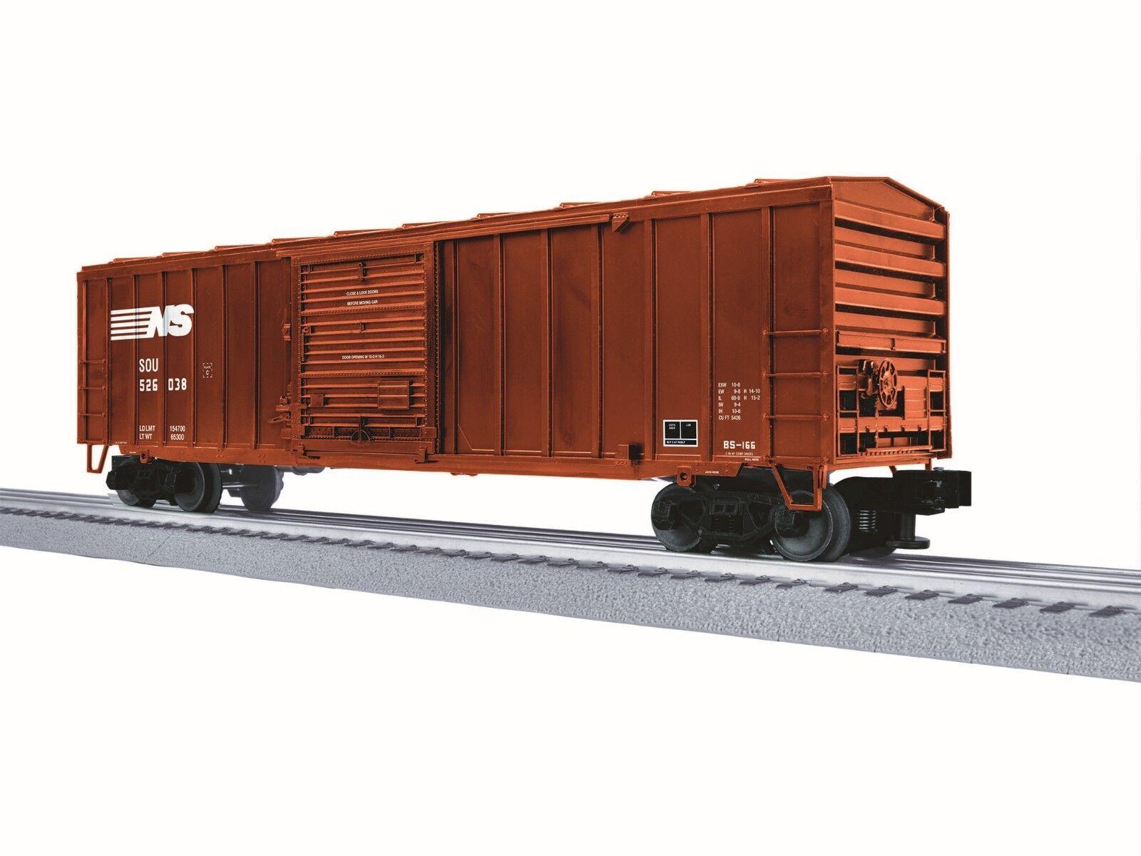 Lionel 3-16045  LionScale 50' Boxcar  NS O-Scale 3-Rail