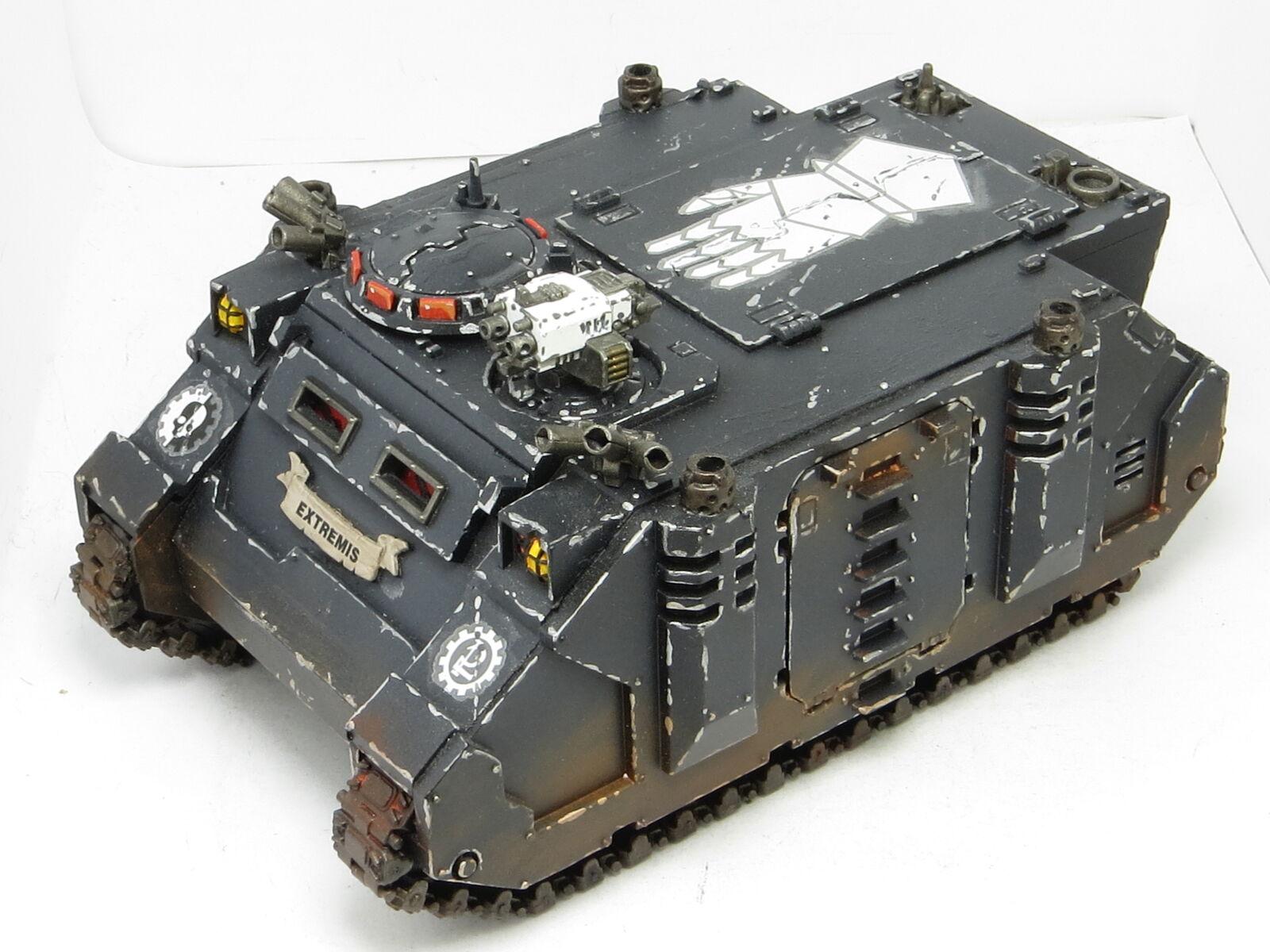 Hierro manos Rhino-pintado warhammer 40K Ejército Marines Espaciales B