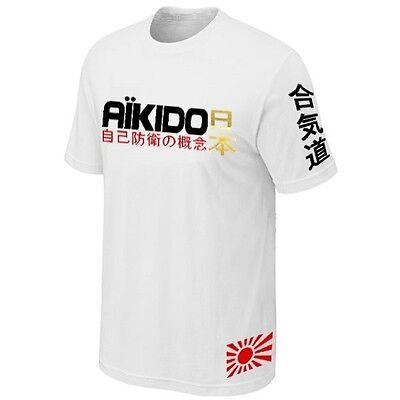 Arts Martiaux Aikido homme à manches courtes T-Shirt
