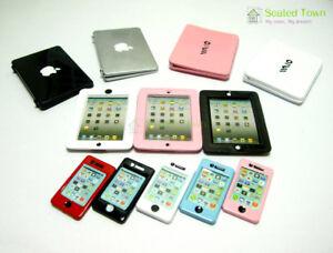 Dollhouse-Miniature-Mobile-Phone-Cellphone-IPAD-Laptop-Tablet-Computer-PC-Decor