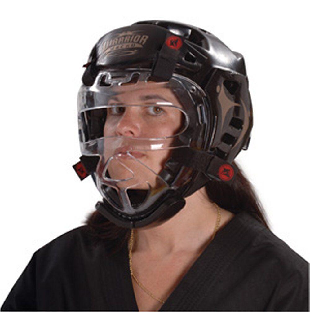 Macho WARRIOR Karate Sparring HEAD Gear w  FACE SHIELD