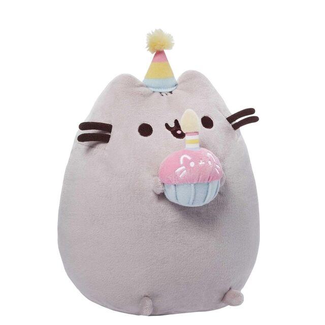 GUND 4051536 Pusheen Birthday Soft Toy