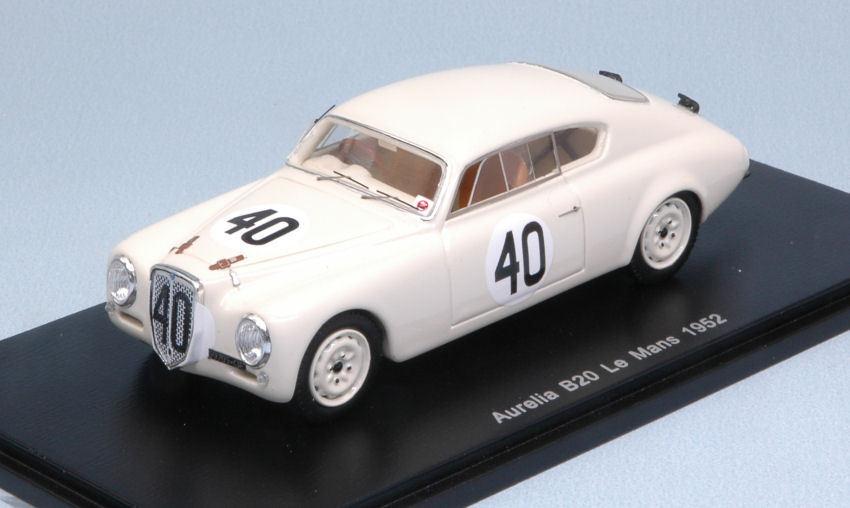 Lancia Aurelia B20  40 8th Lm 1952 F. Bonetto/ E. Anselmi 1:43 Model SPARK MODEL