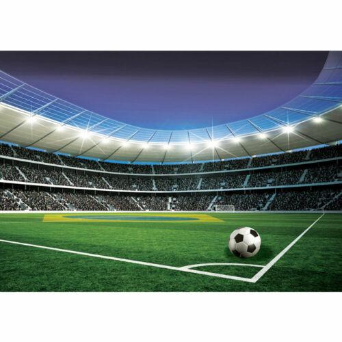 Fototapete Fussball Stadion Tribüne Lichter Flagge Brasilien liwwing no 1970