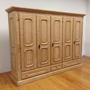 Voglauer Anno 1900 Kleiderschrank Fichte Bauernschrank Schlafzimmer