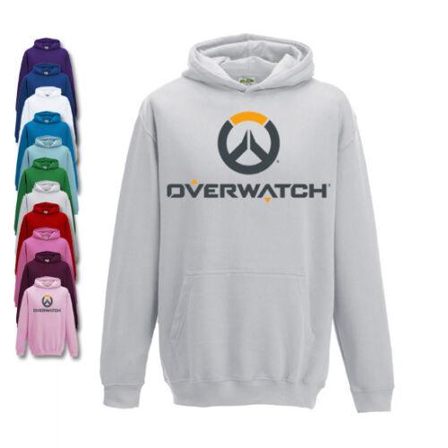 Overwatch Childrens Hoodie Gaming Hoody Boys Or Girls Fit