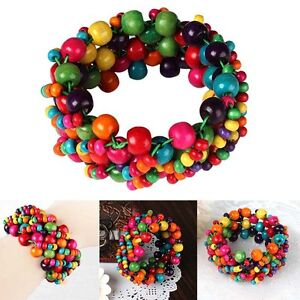 discovered african colorful goods beaded bracelet bra