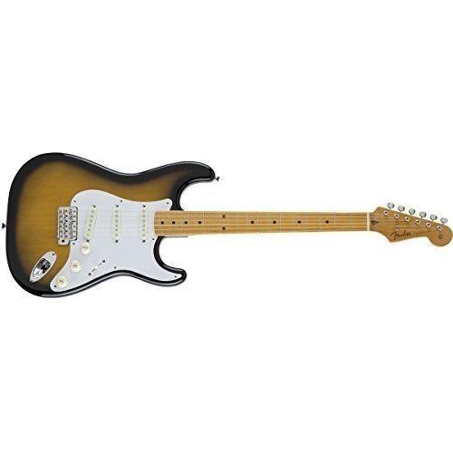 Fender MIJ Traditional '50s StratocasterR 2-Farbe Maple Sunburst rare EMS F S
