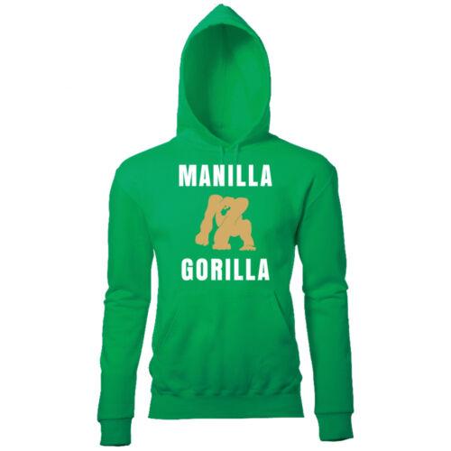 MANILLA GORILLA MENS RETRO SUPER SOFT HOODIE