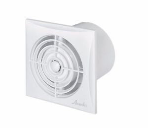 leise badezimmer extraktor ventilator 100mm timer. Black Bedroom Furniture Sets. Home Design Ideas
