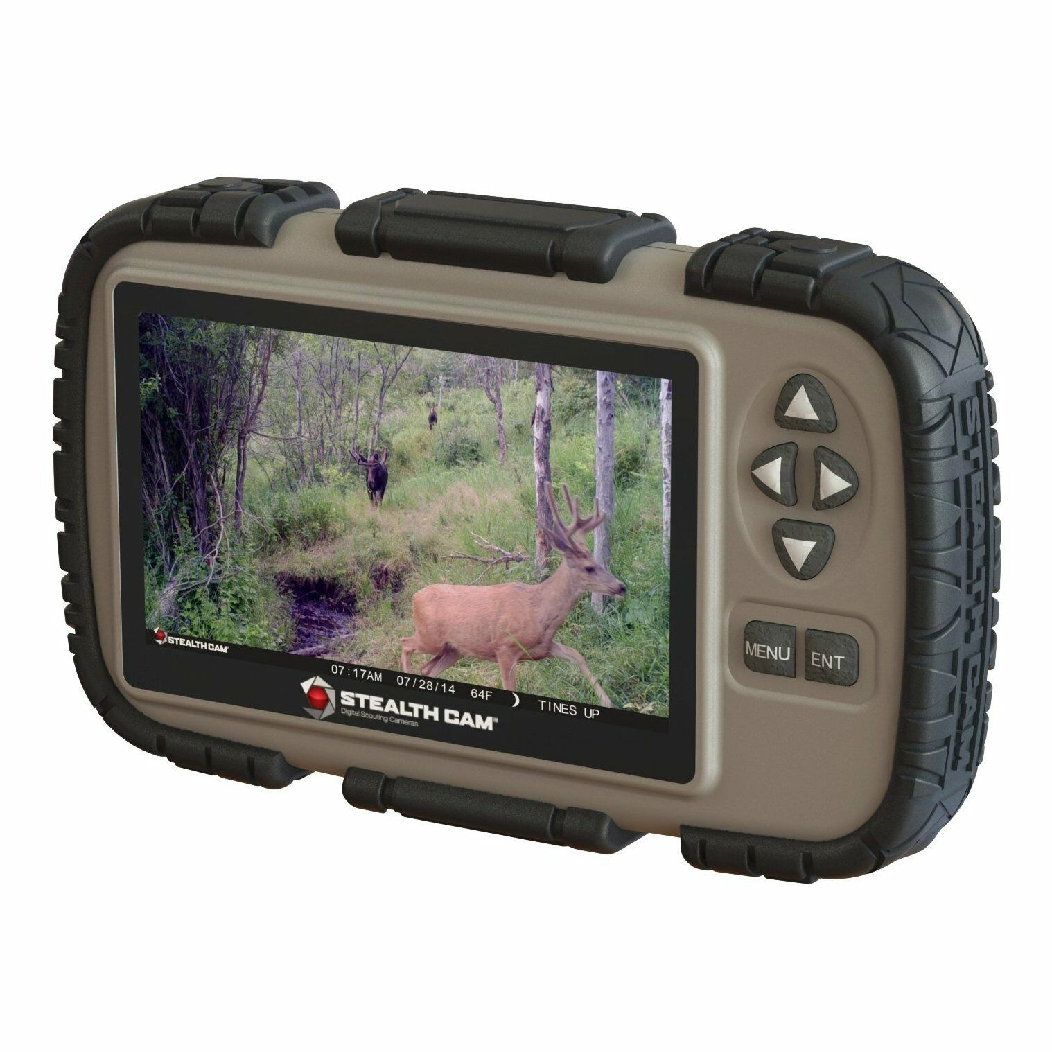 Stealth Cam CRV43 4.3  LCD Screen Game Photo Viewer & SD Card Reader for Hunting