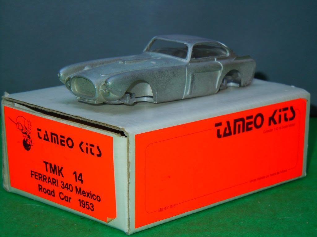 1953 Ferrari 340 Mexico Road Car van Tameo Kits