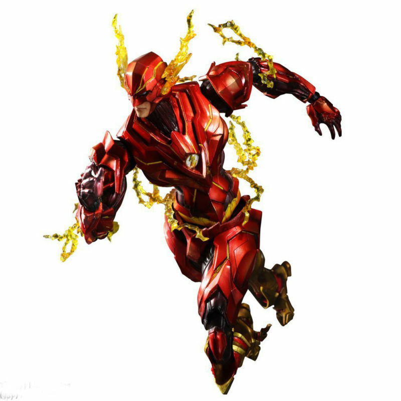 Play Arts Kai Variant DC Comics The Flash Action Figure  25cm New In Box