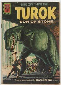 Turok Son Of Stone 1954 25 Paint T Rex Cover Giovanni Ticci Gioliti Art Vg Ebay