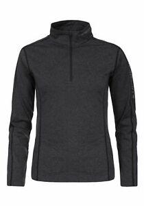 Icepeak-Ladies-Ski-Turtleneck-Dress-Shirt-Thermostretch-Material-Sheun-Dark-Grey