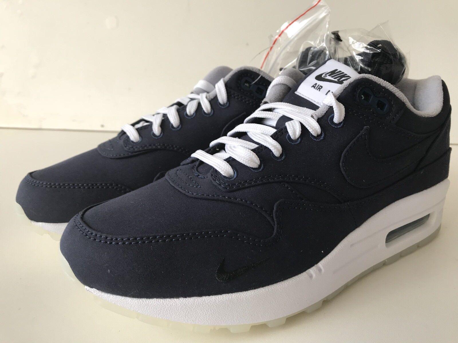 Nike air max 1 / dsm dover coraggioso blu ah8051 400 dimensioni 6 uomini o donne nwb