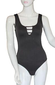 Bodysuit Black Lingerie Romper Jumpsuit Sleepwear Playsuit Bodycon